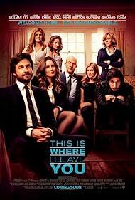 Jane Fonda, Jason Bateman, Connie Britton, Rose Byrne, Tina Fey, Corey Stoll, Kathryn Hahn, and Adam Driver in This Is Where I Leave You (2014)