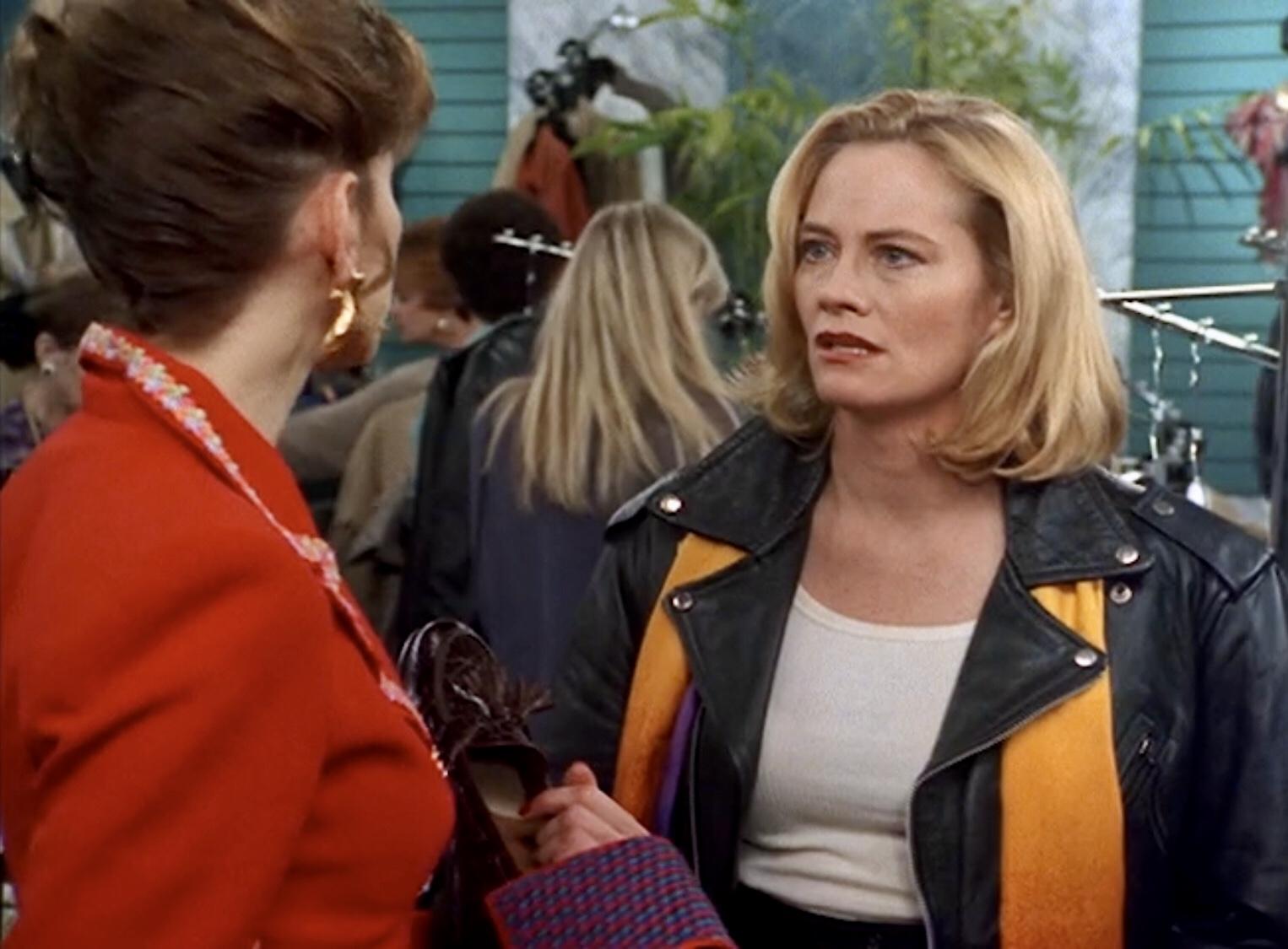 Cybill Shepherd and Christine Baranski in Cybill (1995)