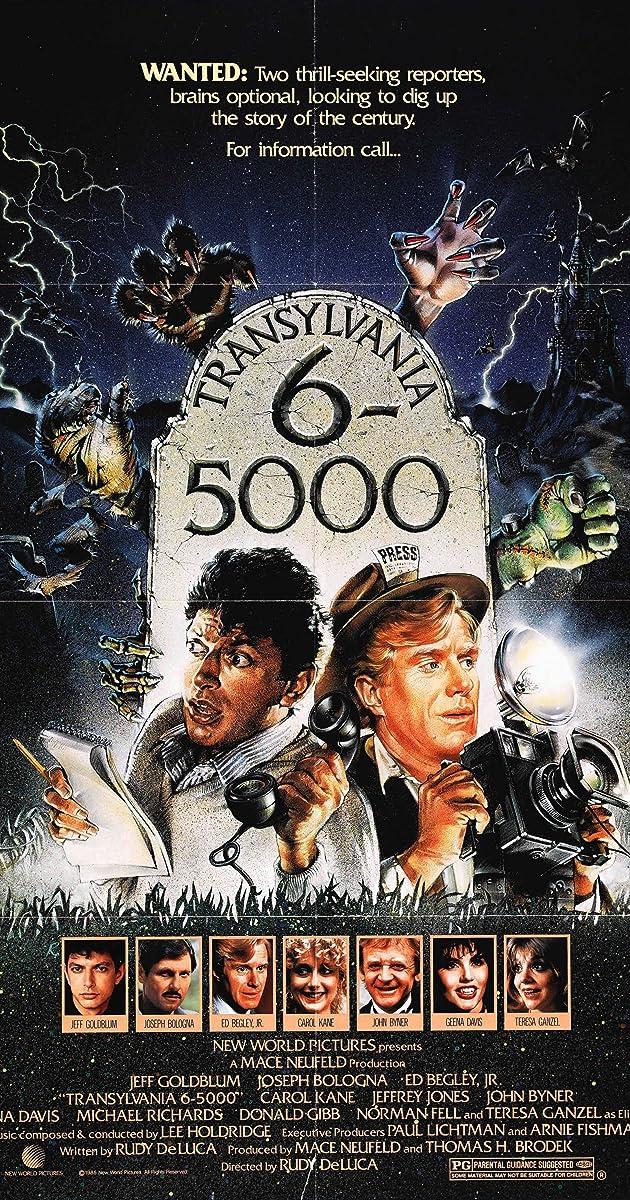 Watch Full HD Movie Transylvania 6-5000 (1985)