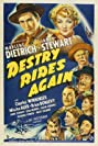 Destry Rides Again (1939) Poster