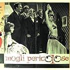 Dorian Gray and Sylva Koscina in Mogli pericolose (1958)