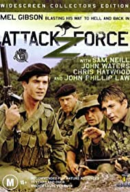 Mel Gibson, Sam Neill, Chris Haywood, and John Phillip Law in Attack Force Z (1981)