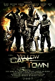 Yellow Cape Town Poster