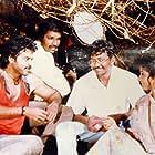 Sridevi, Ram Gopal Varma, and Venkatesh Daggubati in Kshana Kshanam (1991)