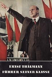 Ernst Thälmann - Führer seiner Klasse Poster