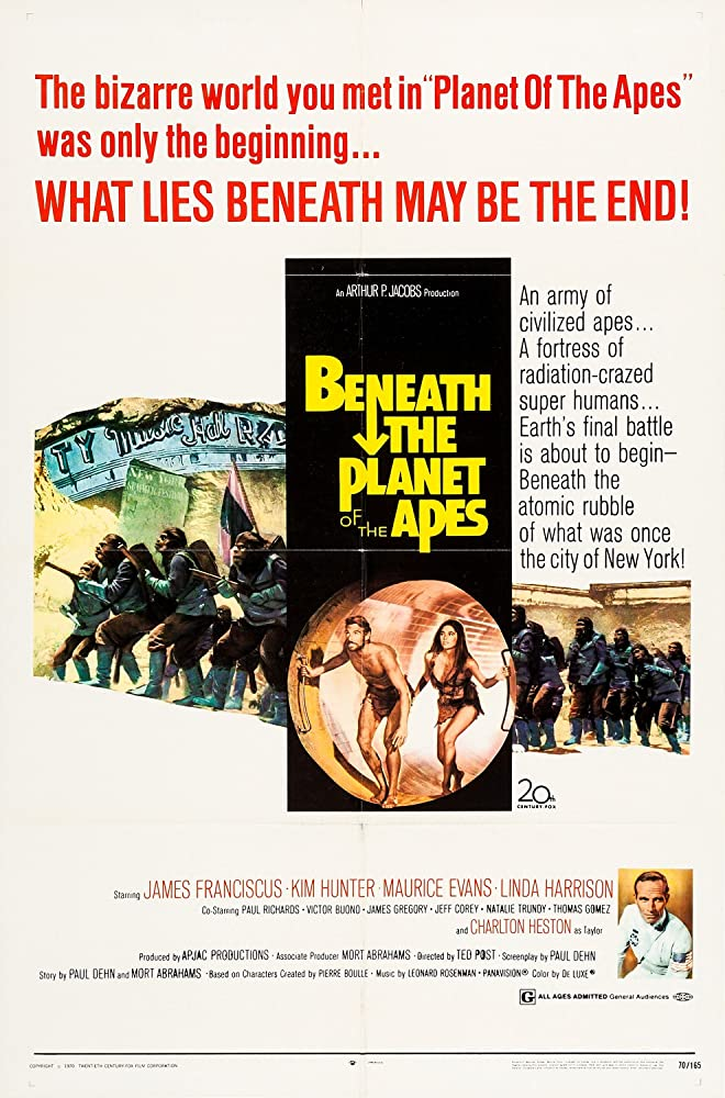 Beneath the Planet of the Apes (1970)