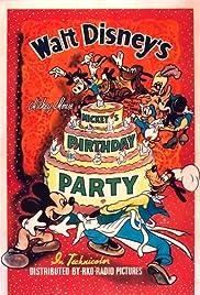 Mickey's Birthday Party(1942) Poster - Movie Forum, Cast, Reviews