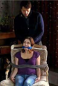Misha Collins and Johanna Marlowe in Supernatural (2005)