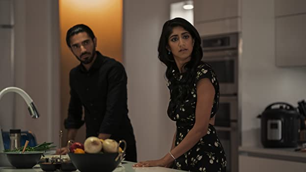 Sunita Mani and Omar Maskati in Evil Eye (2020)