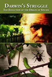 Darwin's Struggle: The Evolution of the Origin of Species Poster
