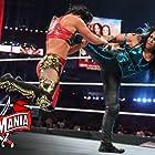 Shayna Andrea Baszler and Sarona Snuka in WrestleMania 37 (2021)