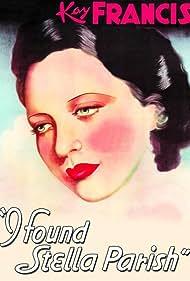I Found Stella Parish (1935) Poster - Movie Forum, Cast, Reviews