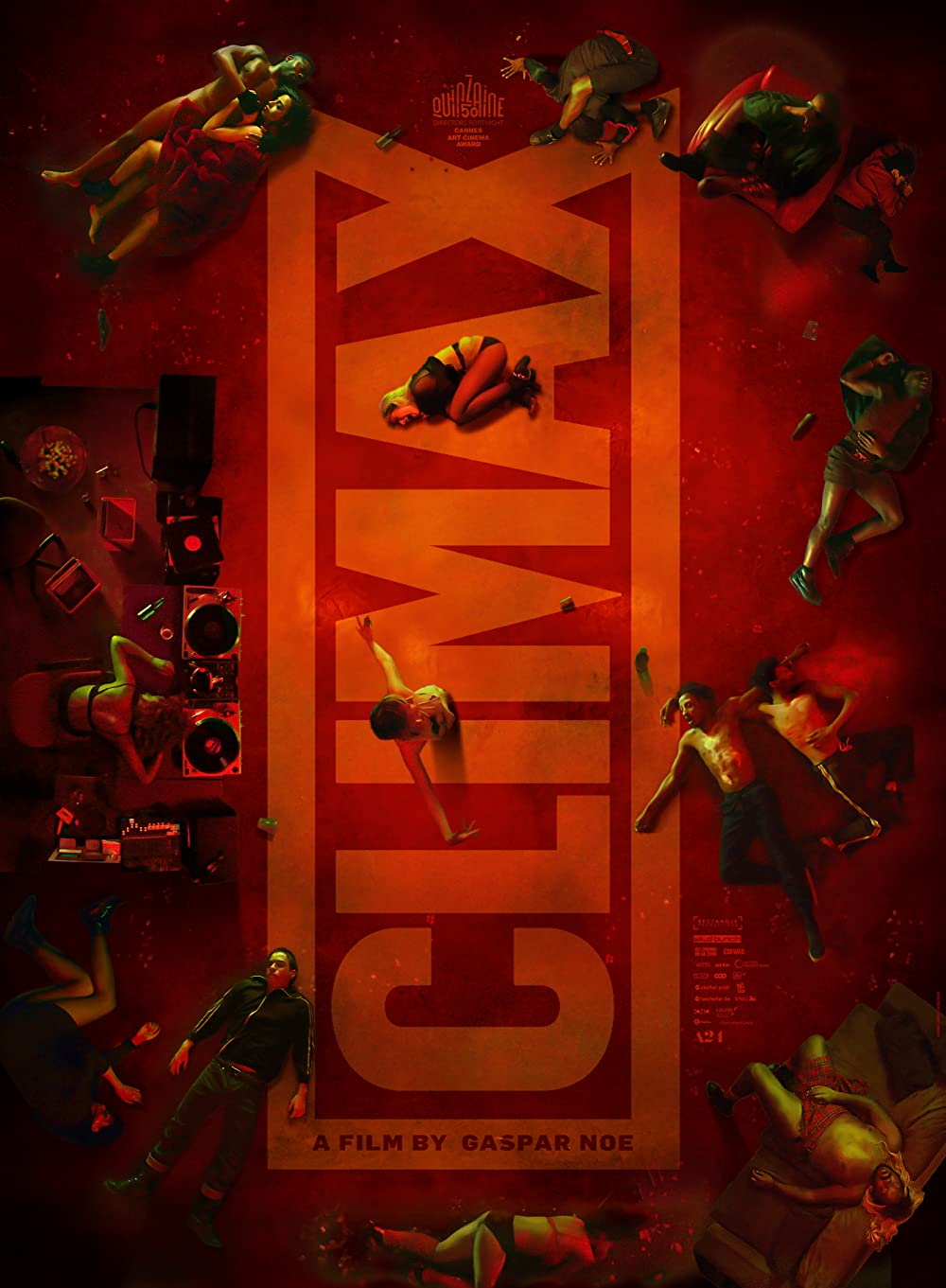 Film color list climax Lone Survivor