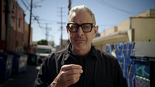 See the world through his eyes: The World According To Jeff Goldblum.