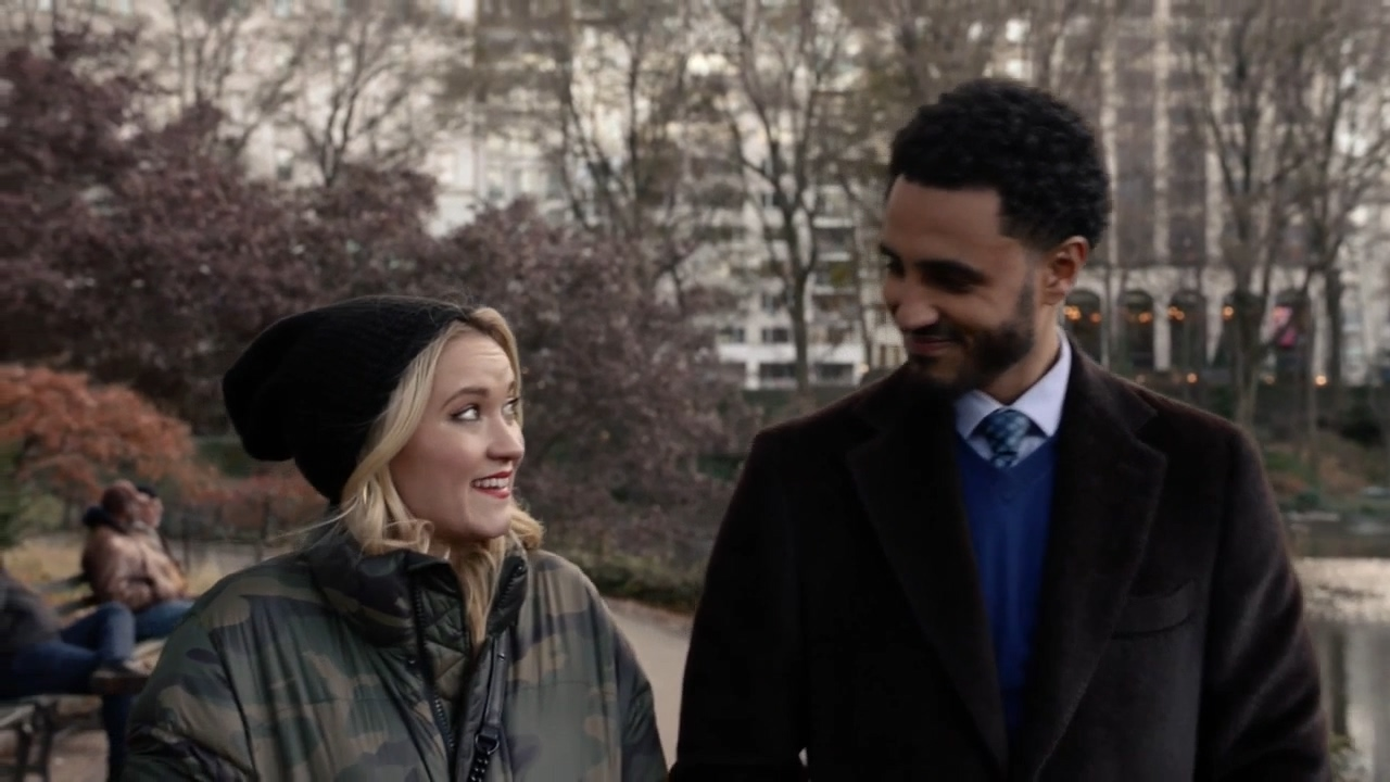 Emily Osment and Mustafa Elzein in Generational AF (2020)