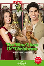 Brandon Routh and Kimberley Sustad in The Nine Lives of Christmas (2014)