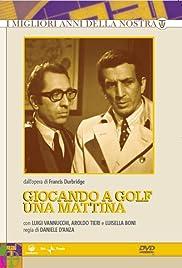Giocando a golf una mattina Poster