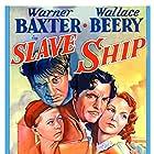 Wallace Beery, Mickey Rooney, Elizabeth Allan, and Warner Baxter in Slave Ship (1937)