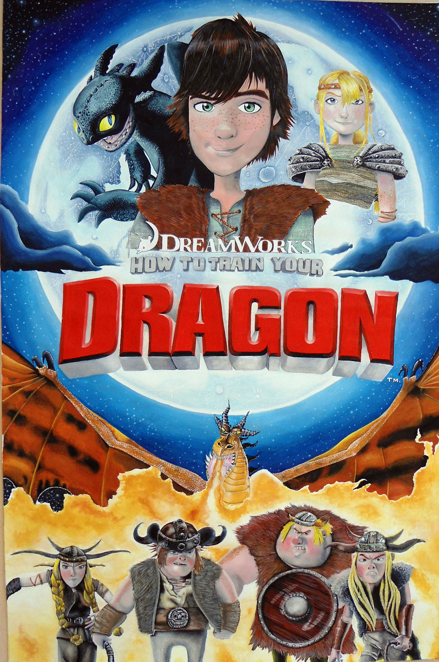 How To Train Your Dragon The Technical Artistry Of Dragon Video 2010 Imdb