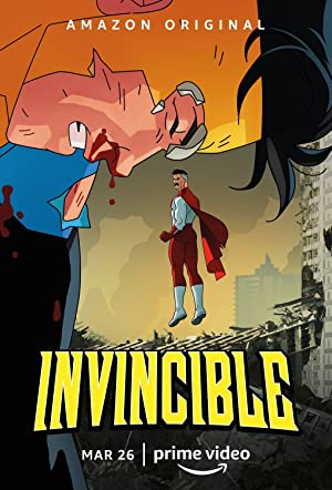Amazon Prime Invincible (Season 1) English | WEB-DL  720p [TV Series] [Episode 7 Added]