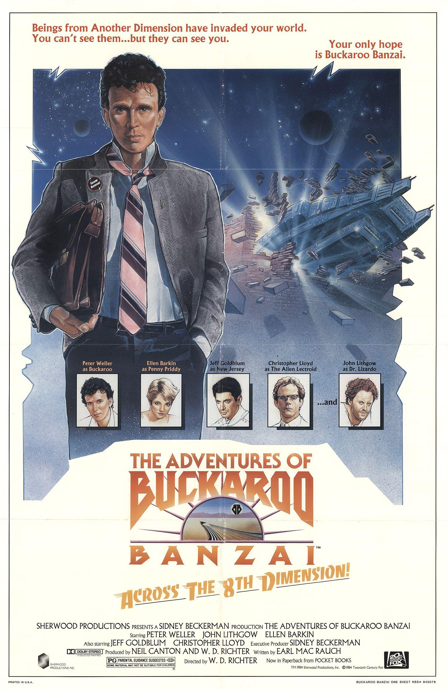 The Adventures Of Buckaroo Banzai Across The 8th Dimension 1984 Imdb