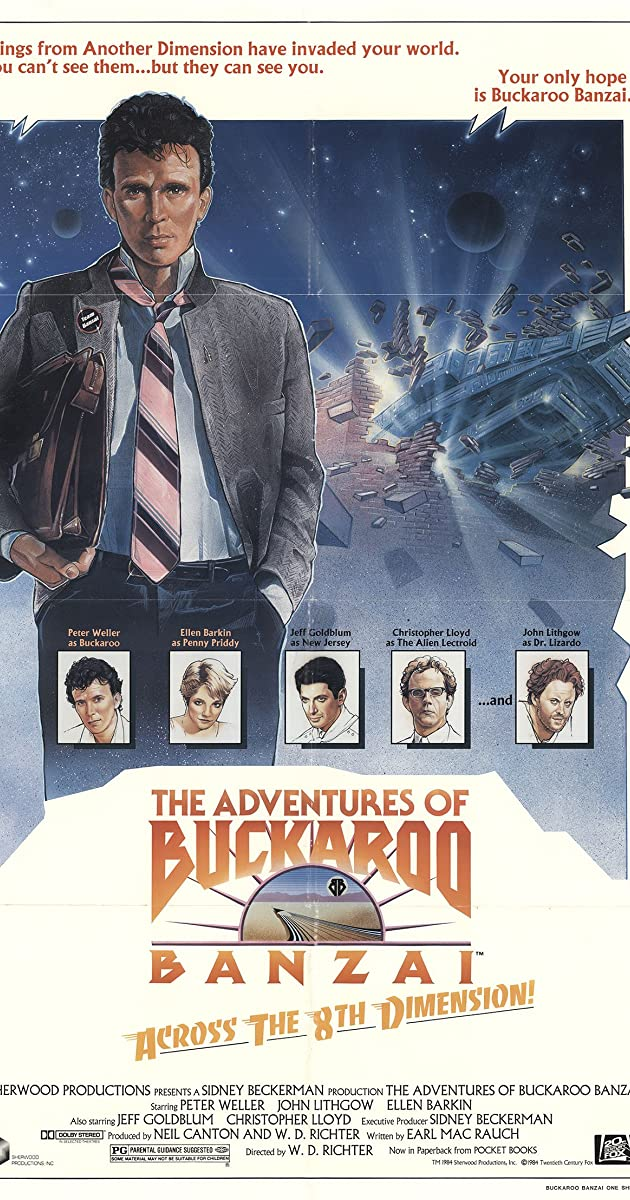 Subtitle of The Adventures of Buckaroo Banzai Across the 8th Dimension