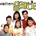 Alvin Alvarez, Bobby Gonzalez, Carlos Lacamara, Vaneza Leza Pitynski, Jeffrey Licon, and Ada Maris in The Brothers Garcia (2000)