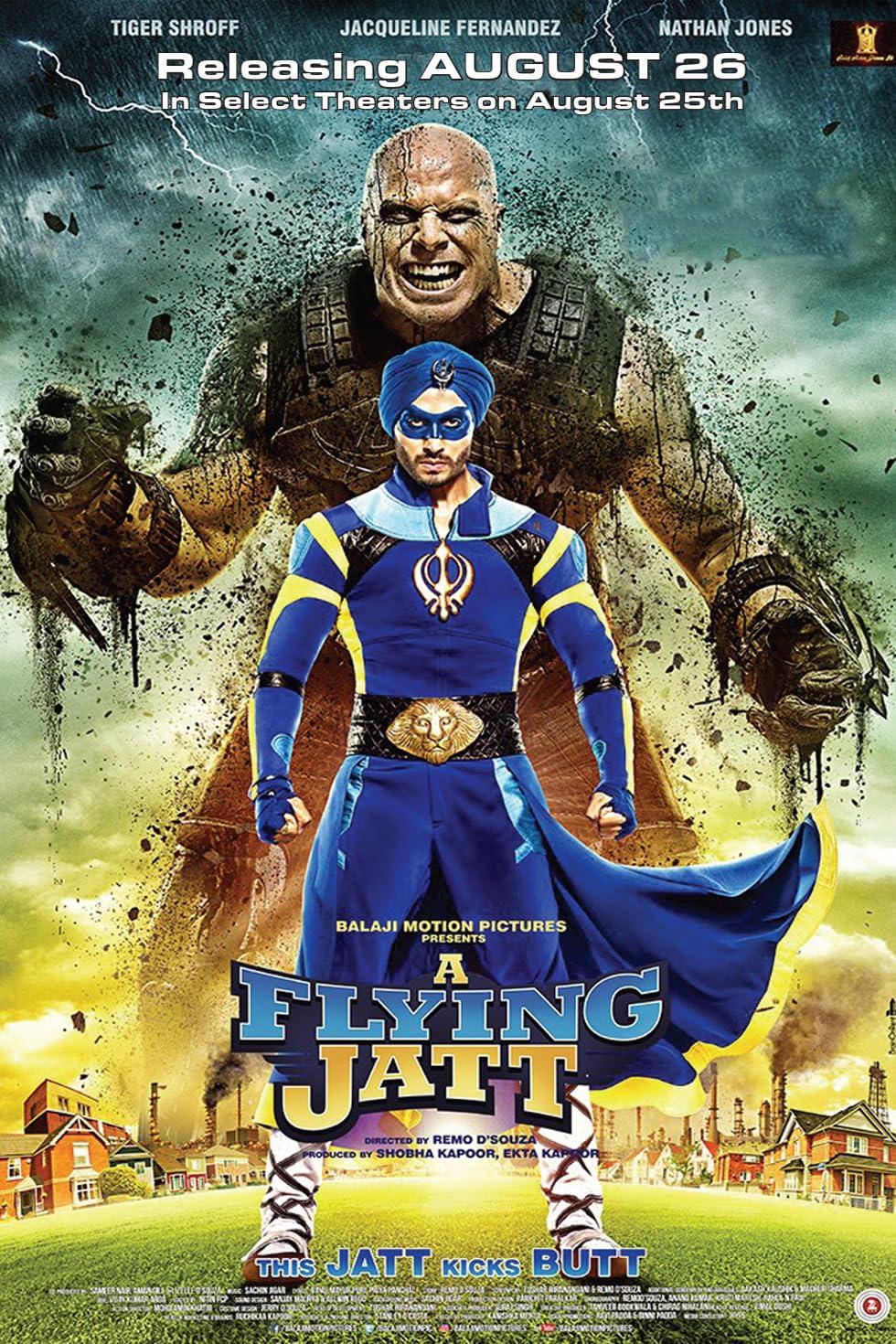 A Flying Jatt (2016) Hindi Movie HDRip 300MB Download