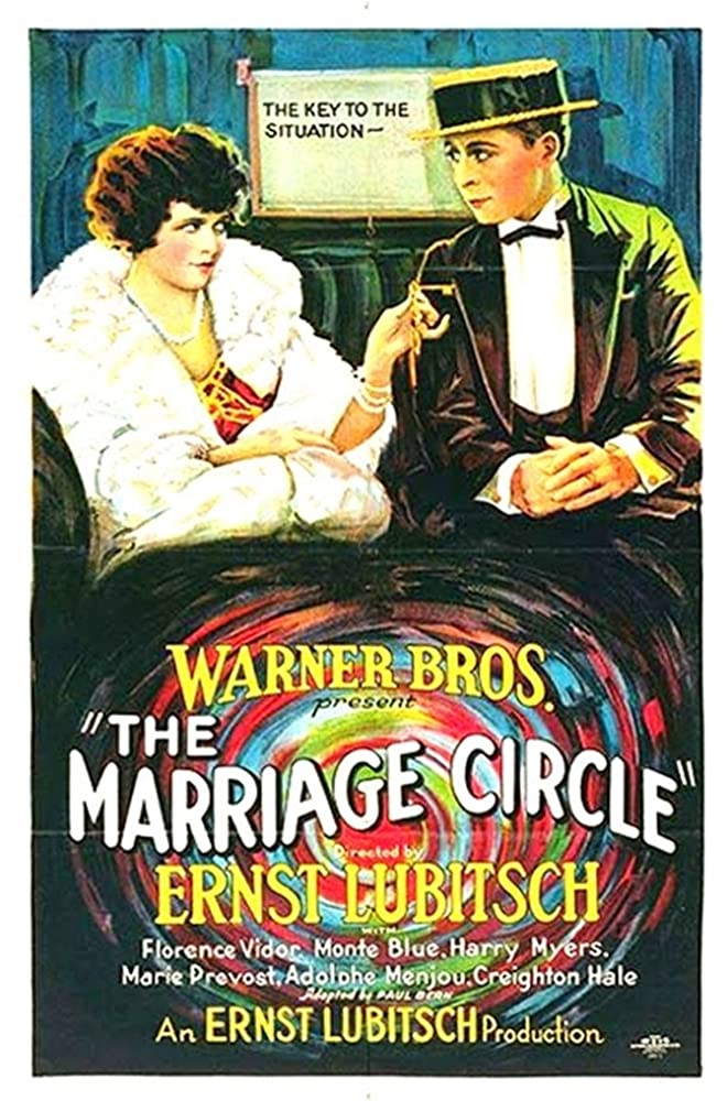 Creighton Hale and Florence Vidor in The Marriage Circle (1924)