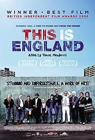 Joe Gilgun, Stephen Graham, Vicky McClure, Andrew Shim, Thomas Turgoose, Rosamund Hanson, and Chanel Cresswell in This Is England (2006)