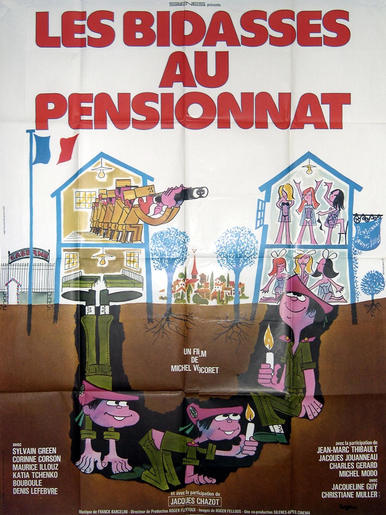 les bidasses au pensionnat