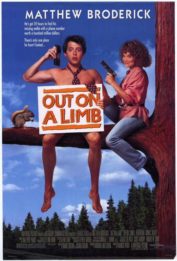 Matthew Broderick and Heidi Kling in Out on a Limb (1992)
