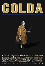 Golda Meir in Golda (2019)