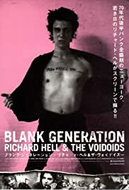 Blank Generation (1980) Poster - Movie Forum, Cast, Reviews