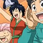 Mitsuo Iwata, Romi Park, Asami Tano, and Sakiko Uran in Dream 9 Toriko x One Piece x Dragon Ball Z Super Collaboration Special!! (2013)