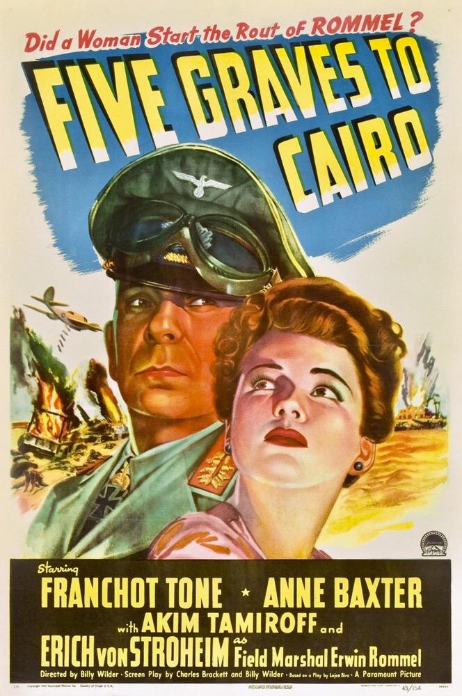 I cinque segreti del deserto (1943) HD