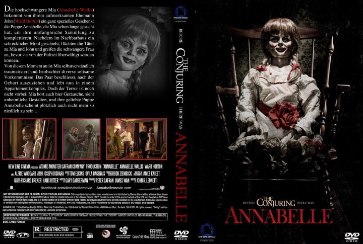Tony Amendola and Annabelle Wallis in Annabelle (2014)