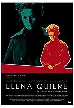 Elena quiere