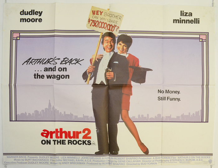 Dudley Moore and Liza Minnelli in Arthur 2: On the Rocks (1988)