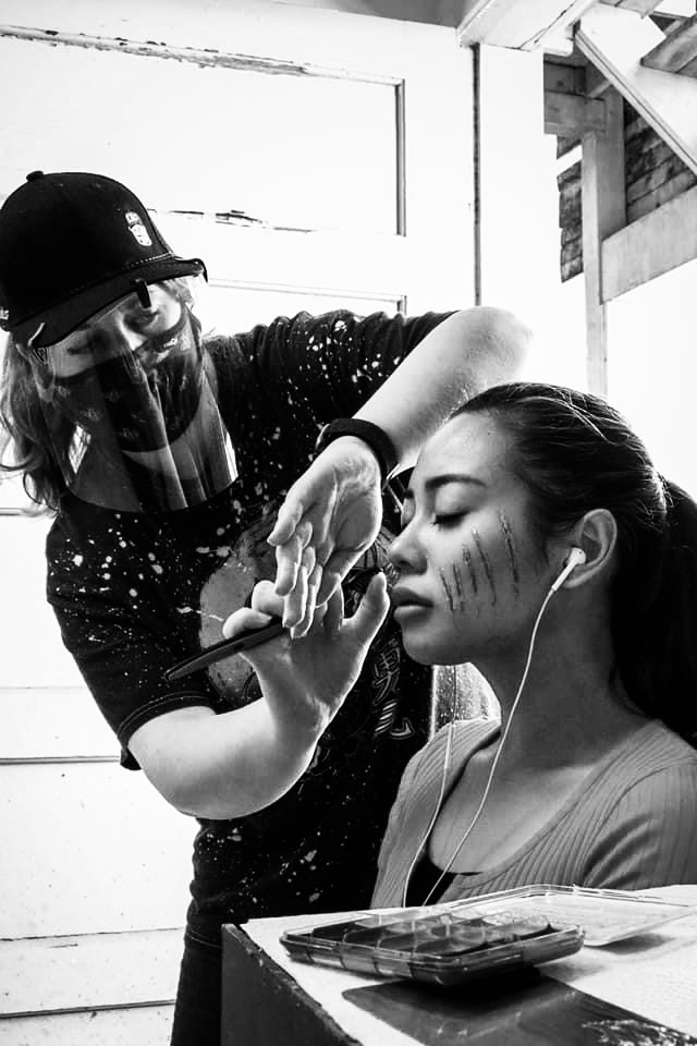 """Behind the scenes of """"Sophie's Rules"""" - Special effects makeup by Michelle Watson MUA"""