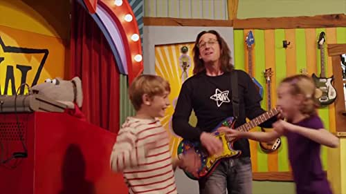 This a sizzler for the series Time Machine Guitar, an educational kids rock-n-roll ½ hour television show featuring Grammy-nominated recording artist Ralph Covert and his puppet friends as they explore music and history from their TV Treehouse. Ralph, Rani, Beauregard, and Malcolm make music videos, meet and play with the neighborhood kids, spin the Wheel of Shenanigans, and travel through time with the help of his magical Time Machine Guitar. Along the way, they meet historical figures and learn valuable life lessons about topics such as sharing, getting along, solving problems, expressing emotions, and the importance of friendship.
