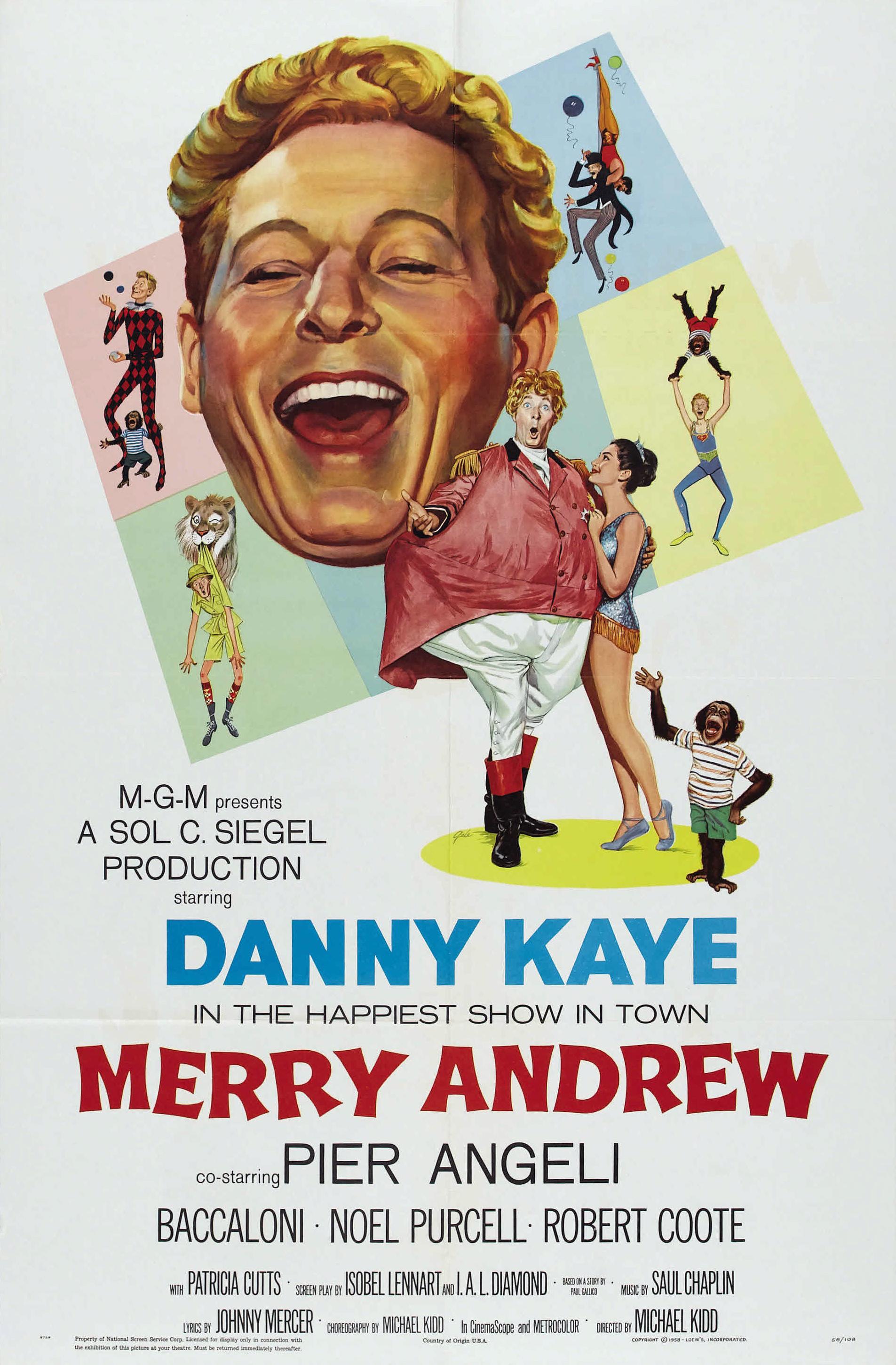 Merry Andrew (1958)