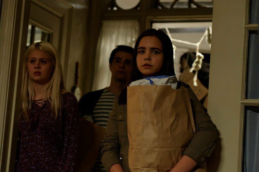 Bailee Madison, Alex Harrouch, and Natalie Ganzhorn in The Night Before Halloween (2016)