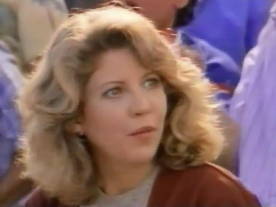 Nancy Allen in Limit Up (1989)