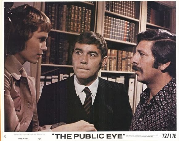 Mia Farrow, Michael Jayston, and Topol in Follow Me (1972)