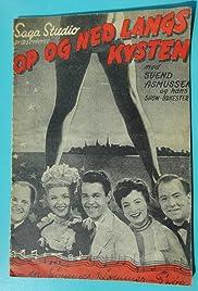 Op og ned langs kysten Poster