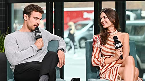 BUILD: Theo James & Emily Ratajkowski Filmed Scenes in the Same House as Beyoncé