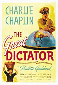 Primary photo for The Great Dictator