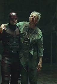 Scott Glenn and Charlie Cox in Daredevil (2015)