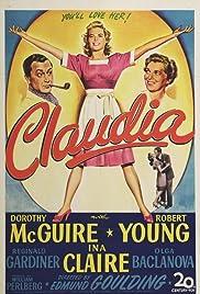 Claudia(1943) Poster - Movie Forum, Cast, Reviews